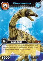 Titanosaurus TCG Card