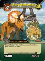Triceratops - Chomp Battle Mode TCG Card 3-DKBD