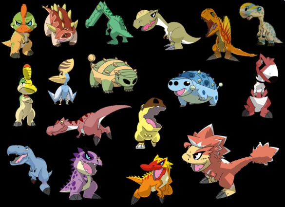 Chibi Dinosaurs | Dino... Ampelosaurus Dinosaur King