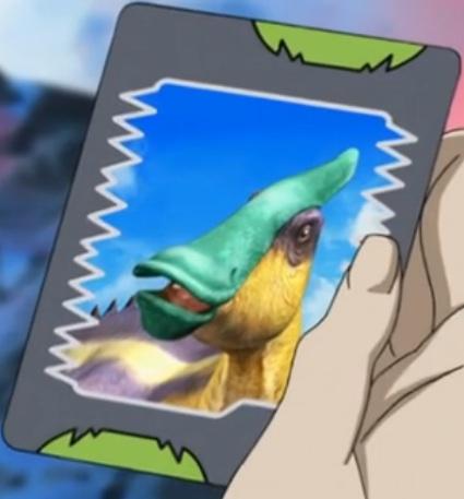 File:Saurolophus (green-crested) card.jpg