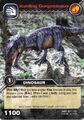 Gorgosaurus-Hunting TCG Card (German)