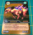 Lanzhousaurus Spectral Armor TCG Card 1-Gold