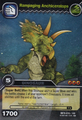 Anchiceratops-Rampaging TCG Card 1-Silver