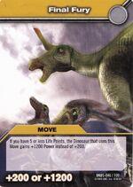 Final Fury TCG Card 2 (German)