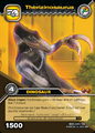 Therizinosaurus TCG card