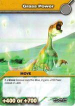 Grass Power TCG Card