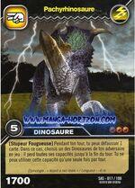Pachyrhinosaurus TCG Card 2 (French)