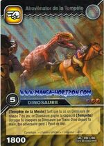Afrovenator-Storm TCG Card 2-Collosal (French)