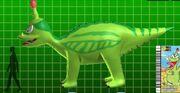 Animated Tsintaosaurus