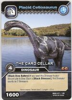 Cetiosaurus-Placid TCG Card