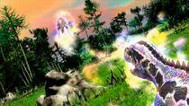 Zero G Throw (Megalosaurus) 03