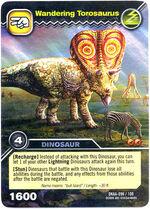 Torosaurus-Wandering TCG Card 2-Collosal