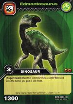 Edmontosaurus TCG Card