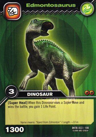 File:Edmontosaurus TCG Card.JPG