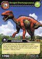Shantungosaurus-Enraged TCG Card (German)