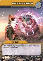 Knockout Blast TCG Card 1