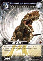 Monolophosaurus TCG Card