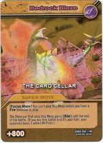 Bedrock Blaze TCG Card 1-Gold