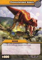 Overextended Attack TCG Card