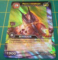 Pentaceratops TCG Card 2-Collosal