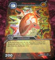 Flame Egg TCG Card 1-Colossal