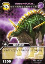 Dacentrurus TCG card