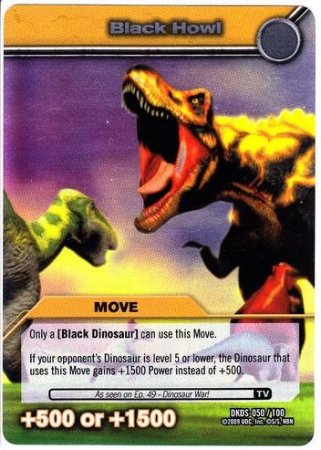 Tail Slam Tcg Card 1