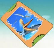 Metal Wing card