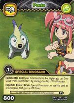 Parasaurolophus - Paris TCG Card 5-DKTA (French)