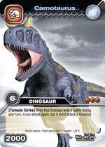 Carnotaurus TCG card