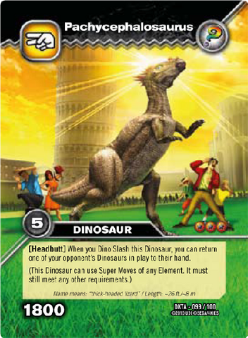 File:Pachycephalosaurus TCG Card.png