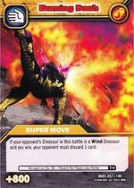 Burning Dash TCG Card