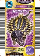 Saichania card