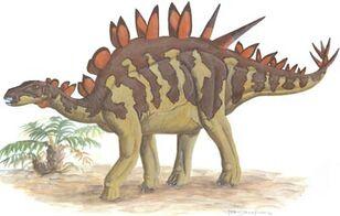 Huayangosaurus picture