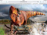 Rhinorexvsdeinosuchus