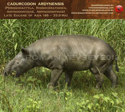 Cadurcodon ardynensis by romanyevseyev-d590d2w