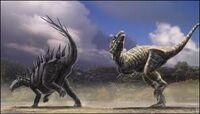 Lexovisaurus vs allosaur
