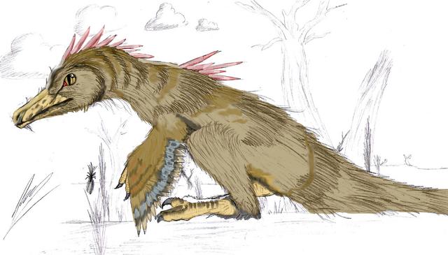 File:Sitting velociraptor.png