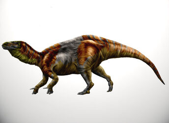 Iberian iguanodont by durbed-d4w41ad