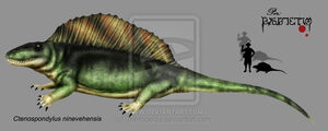 Ctenospondylus ninevehensis by Theropsida