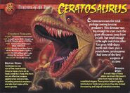 Ceratosaurus front