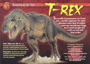 T-Rex front