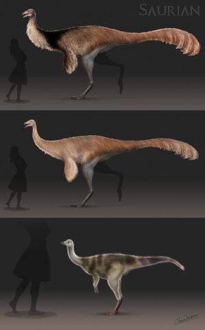 File:Hell creek ornithomimid by chrismasna-d9c39sa.jpg