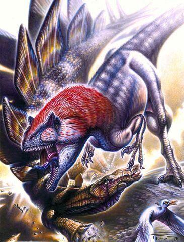 File:Allosaurus vs stegosaurus by paleopastori-d70ocyt.jpg