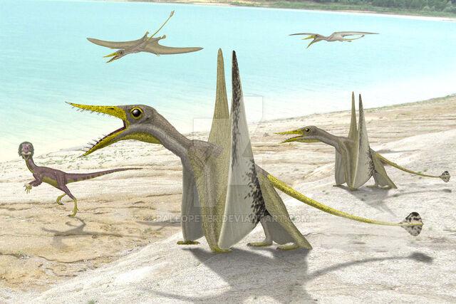 File:Rhamphorhynchus compsognathus by paleopeter-d8ct991.jpg