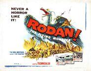 Rodan flying monster poster 02