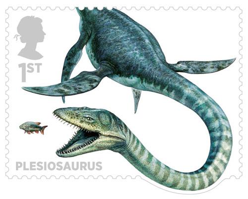 File:0628 plesiosaurus stamp.jpg