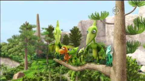 Dinosaur Train S02 The Lost Bird; The Forest Fire ENGLISH