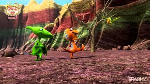 Dinosaur Train Season 3 - Sparky Animation