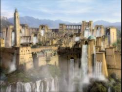Waterfall City 1